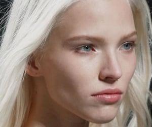HF, platinum blonde, and high fashion image