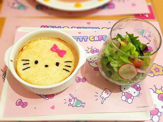 cat, delicious, and food image