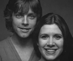 a new hope, leia skywalker, and carrie fisher image