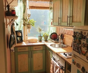 kitchen, aesthetic, and plants image