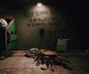 dark, underground, and cyberpunk image