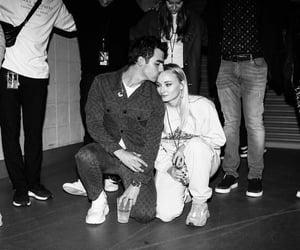 couple, Joe Jonas, and sophie turner image