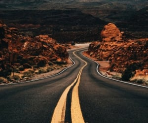 curves, highway, and long image