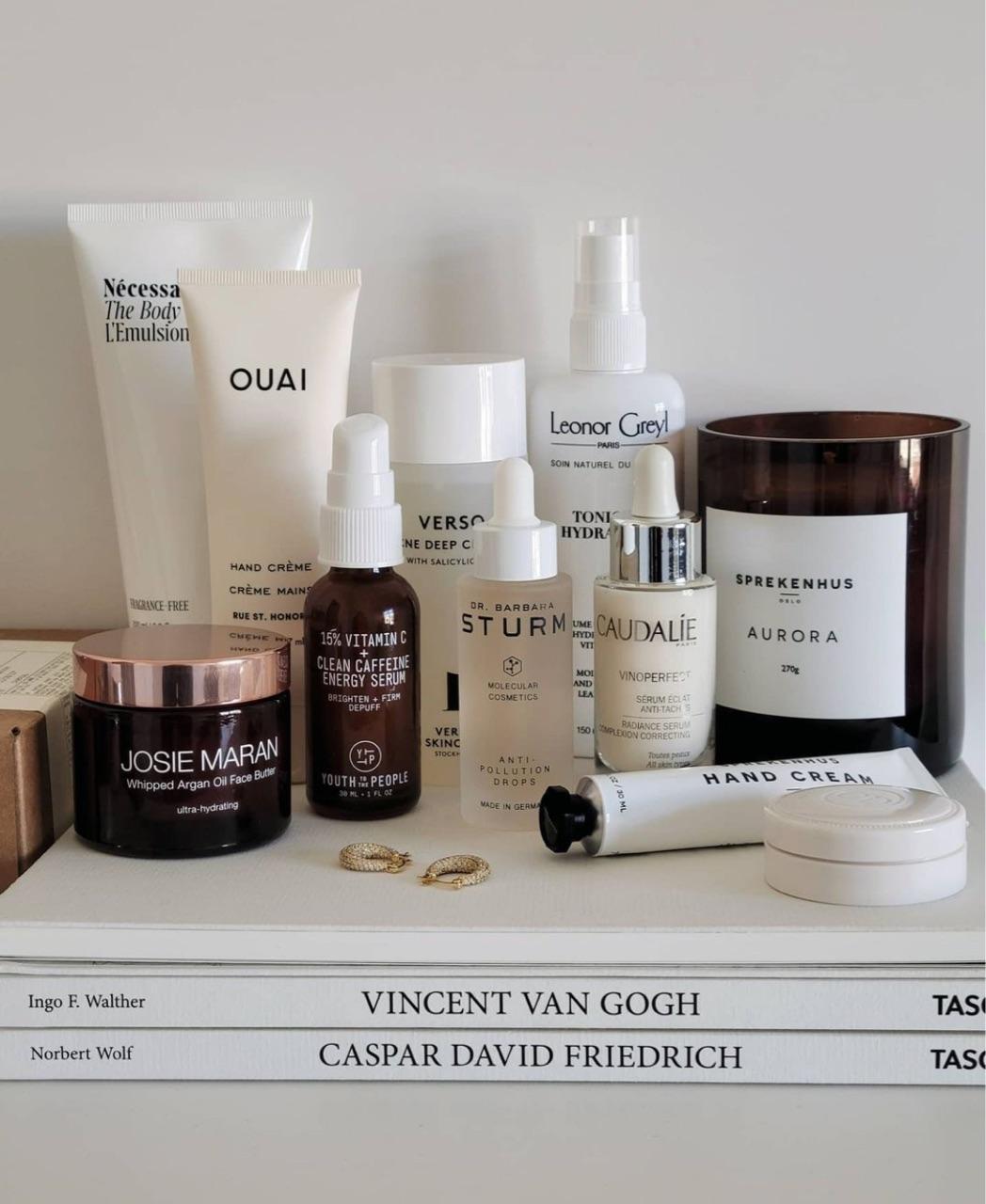 aesthetic, cosmetics, and essentials image