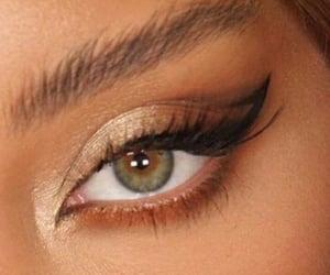 eyebrow, beauty, and eyeliner image