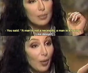 quotes, cher, and feminism image