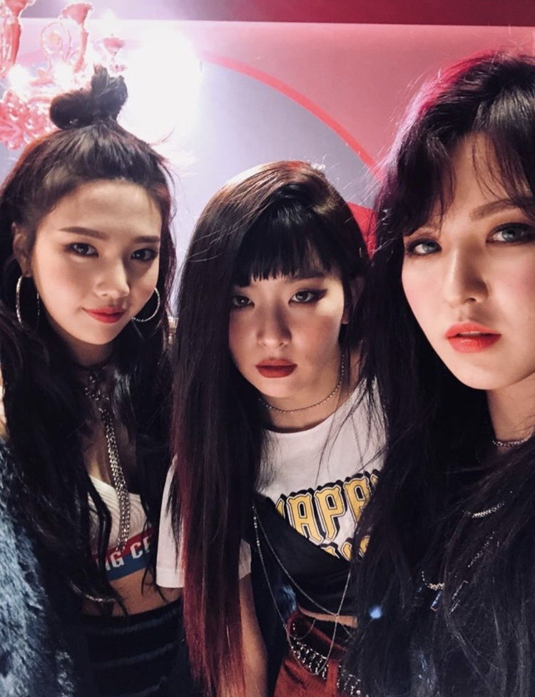 joy, wendy, and red velvet image