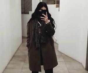 aesthetic, dark, and girl image