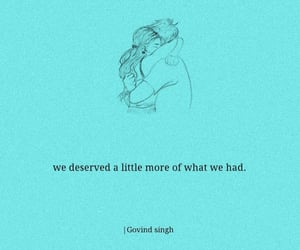 heart broken, thought, and love image