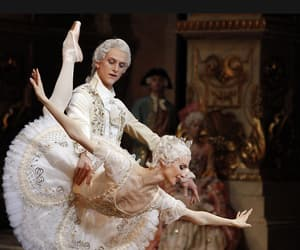 "lasylphidedubolchoi:""Svetlana Zakharova and David Hallberg in Bolshoi's The Sleeping BeautyPhoto by Elena Fetisova (?)"""