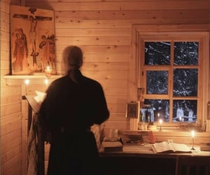 cabin, solitude, and kloster image