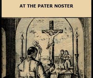 altar, cross, and catholic church image