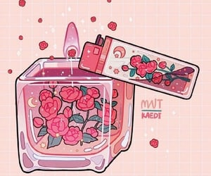 magic, pink, and rose image