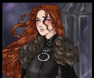 art, sansa stark, and game of thrones image