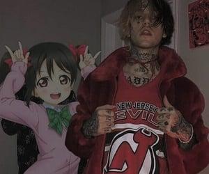 lil peep, peep, and anime image