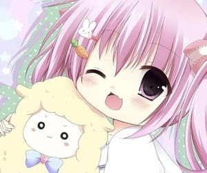 kawaii, weeb, and anime pastel image