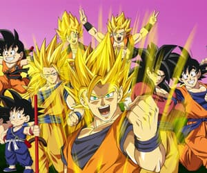 anime, dragon ball, and dragon ball z image