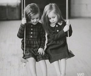 aesthetic, innocence, and sisters image