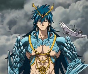 Sinbad, anime, and magi image