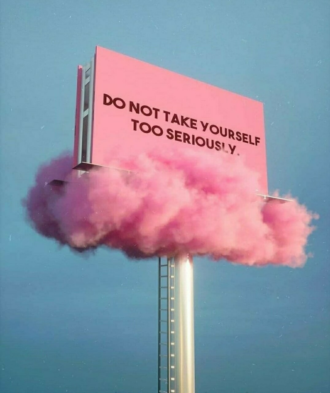 pink, quotes, and clouds image