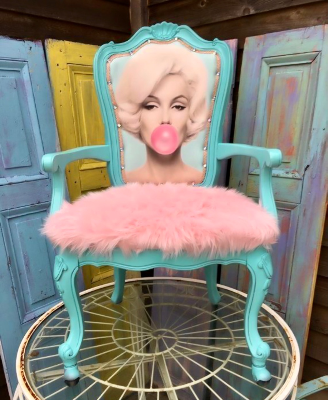 chairs, princess, and style image