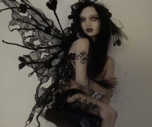 clay, dirt, and goth image