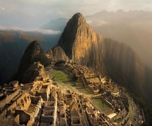 machu picchu, nature, and peru image