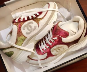 chanel, luxury, and sneakers image