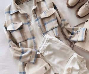 checked shirt, chemise, and flannel chemise image
