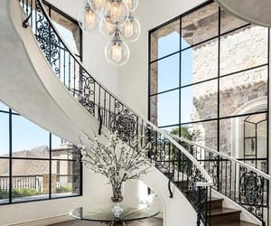 chandelier, decor, and designs image