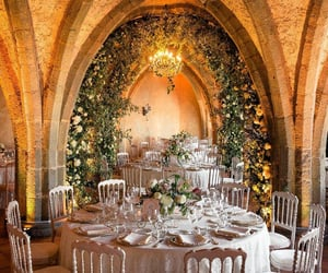 events, wedding, and wedding reception image