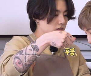 tattoo sleeve, jk, and koo image