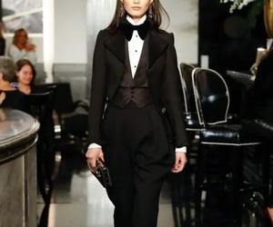 model, fashion, and ralph lauren image