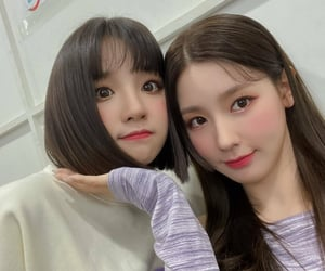 yuqi, g-idle, and miyeon image