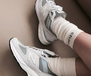 shoes, celine, and new balance image