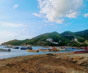 colombia, playa, and hermoso image