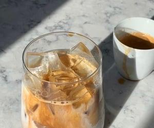 coffee, food, and ice coffee image