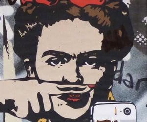 feminism, frida kahlo, and moustache image