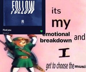 breakdown, kpop, and meme image