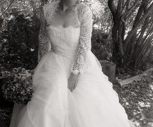 wedding dress, wedding dresses, and amy-jo tatum image