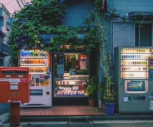 aesthetic, japan, and red image