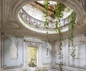abandoned, beauty, and destroyed image