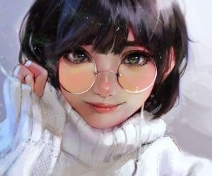 anime, shorthair, and cutegirl image
