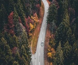 car, nature, and road image