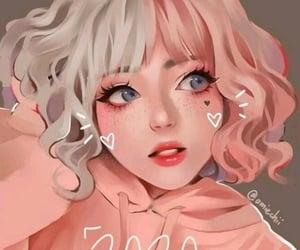 pink, shorthair, and cutegirl image