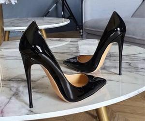 fashion, heels, and black image