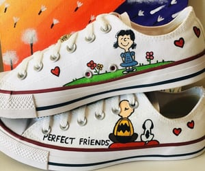 all stars, charlie brown, and converse image