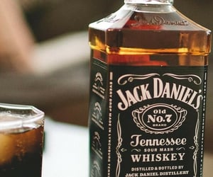 alcohol, jack daniels, and drink image