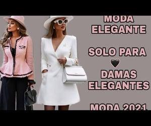 elegance, elegante, and moda image
