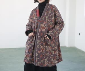etsy, outerwear, and vintage coat image